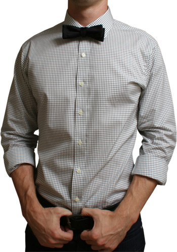 Black Check Dress Shirt