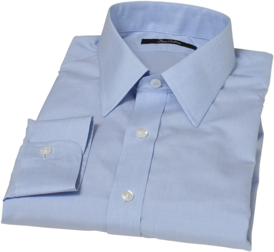 Light Blue End-on-End Dress Shirt