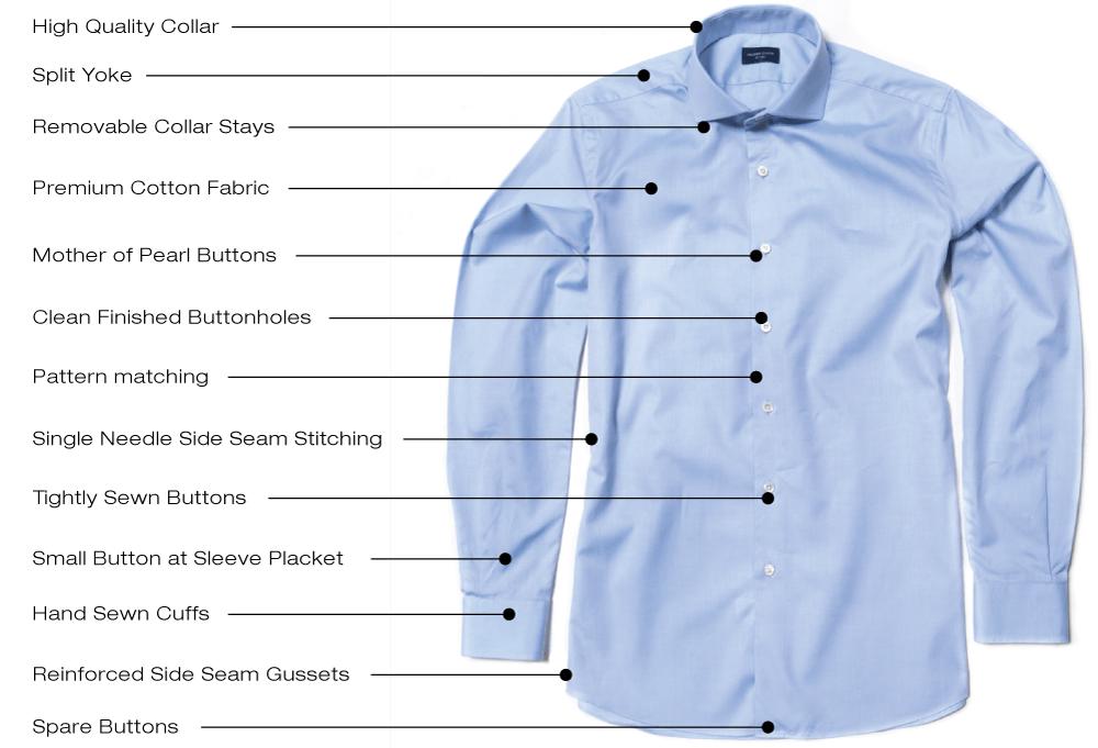 High quality dress shirts proper cloth reference for Good quality mens dress shirts