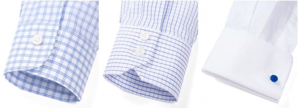dress shirt cuff styles