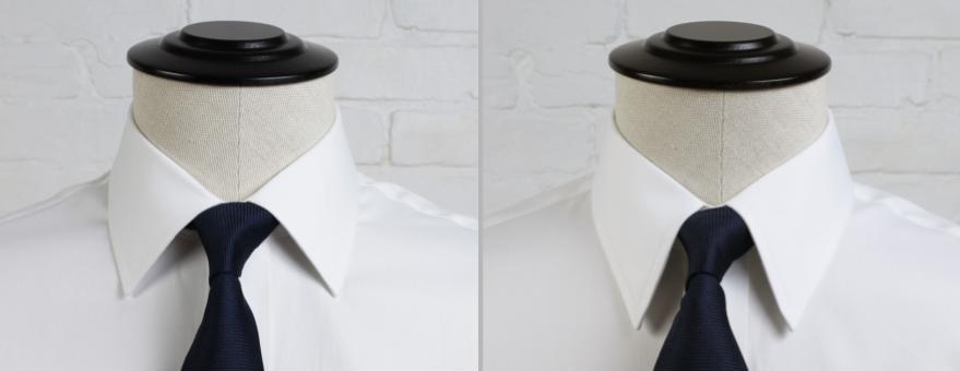 Semi Spread vs Point Collar