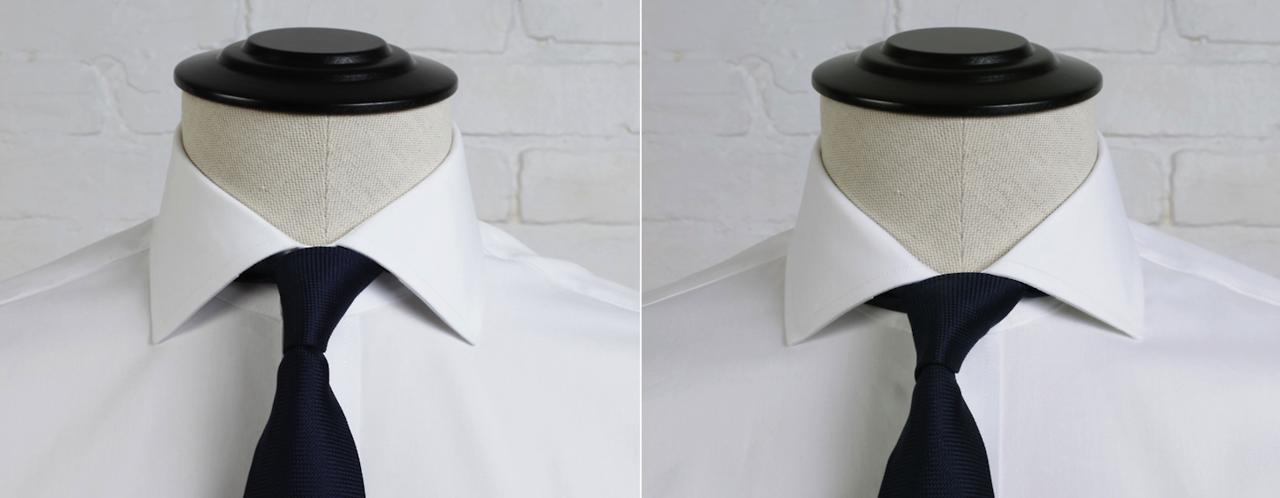 President Spread Collar Vs English Spread Collar Proper