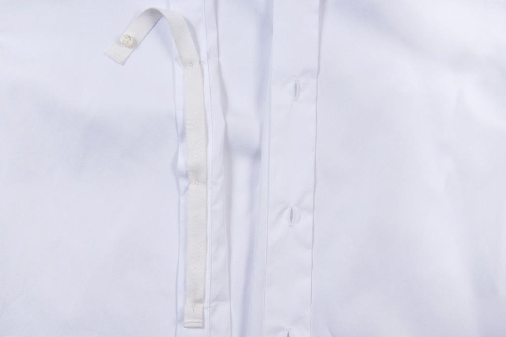 Temporary Buttons Tuxedo Shirt