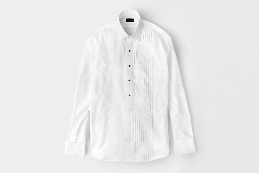 pleated-tuxedo-shirt