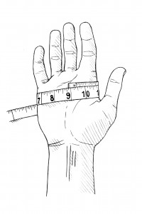 How to Measure Glove Size | Proper Cloth Reference
