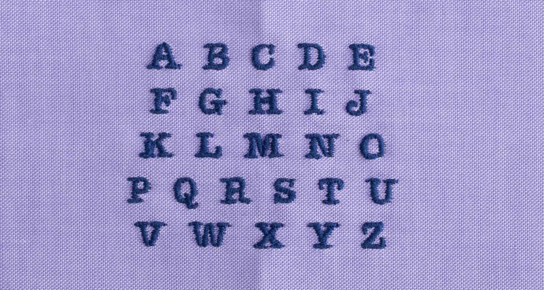 monogram-typewriter