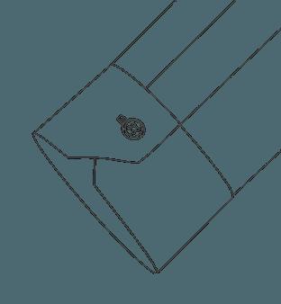 One Button Mitered Cuff