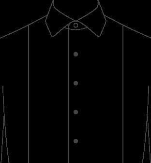 Tuxedo Front Pique
