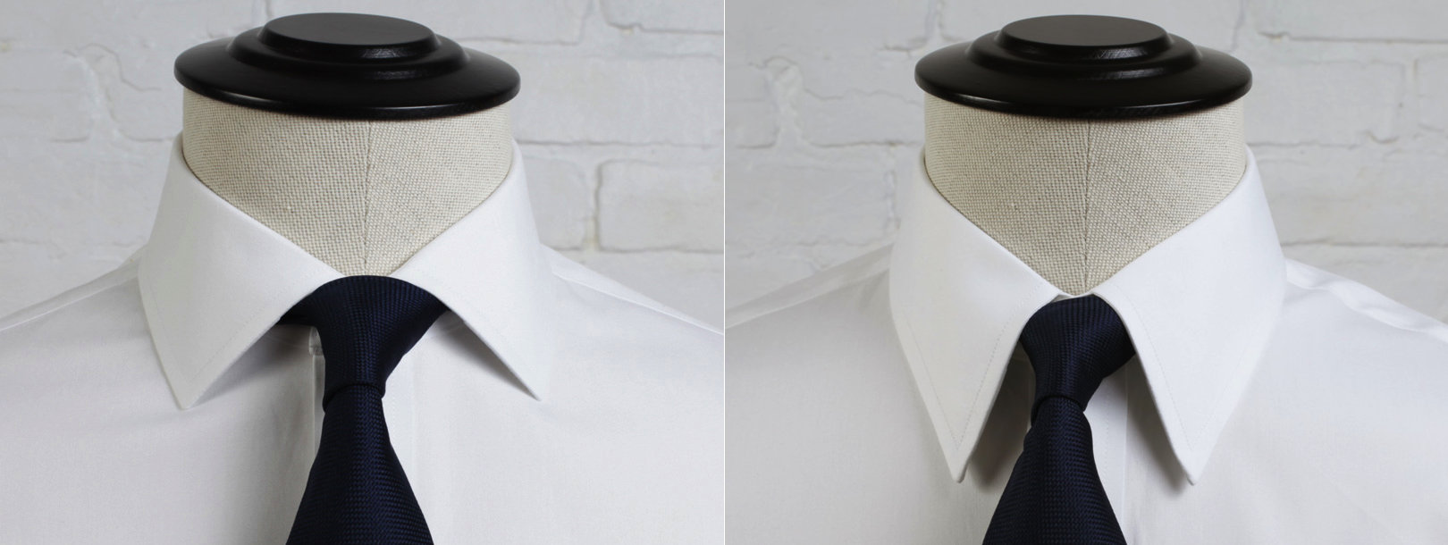 Spread Collar Vs Point Collar Proper Cloth