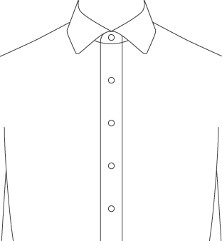 Stand Up Front Placket