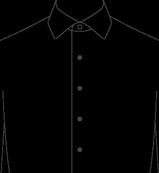 Mens Wide Collar Dress Shirts