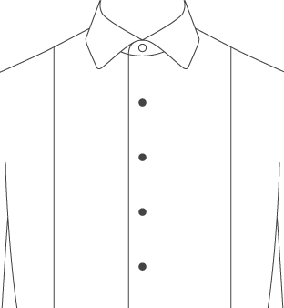 f9240355c8276 Dress Shirt Front Placket Types - Proper Cloth Reference