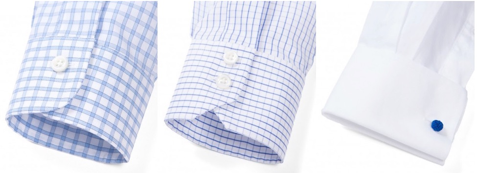 dress shirt cuff styles