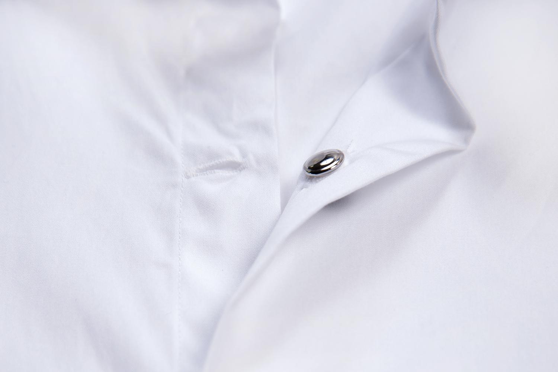 Inserting Studs Tuxedo Shirt