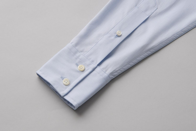 Soft Two Button Square Cuff