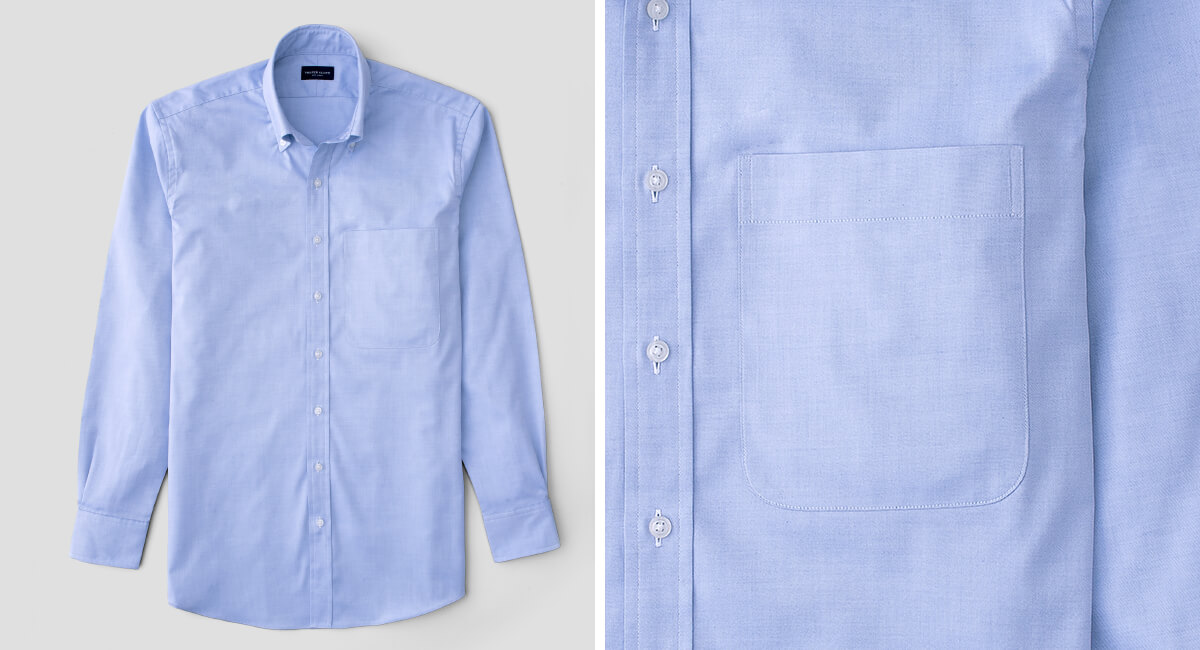 XL Rounded Chest Pocket