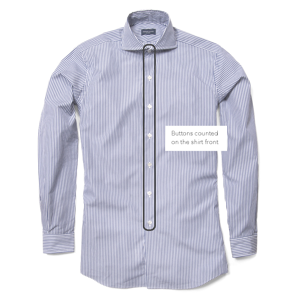 Number Of Buttons On Shirt Front Proper Cloth Reference