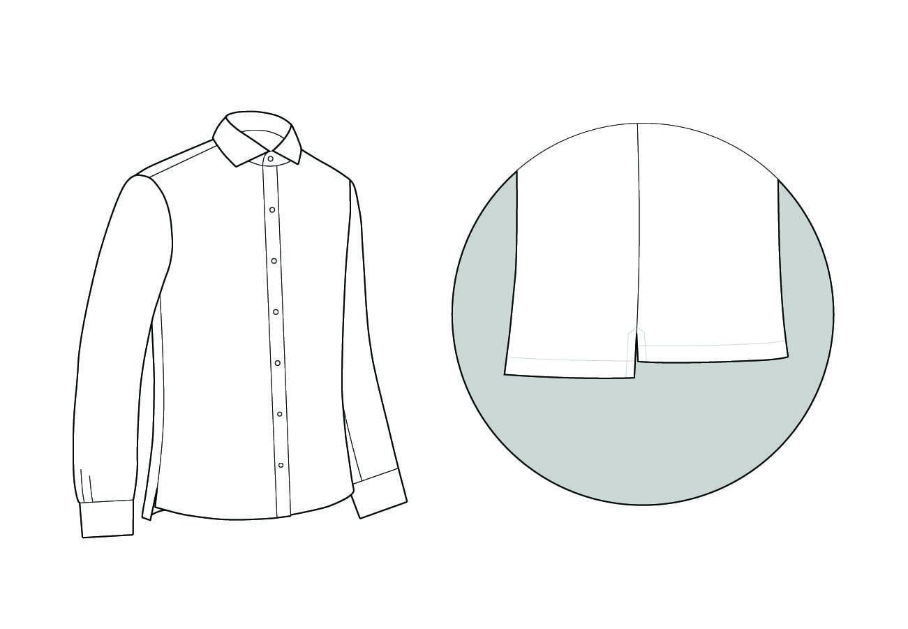 Polo Shirt Hem