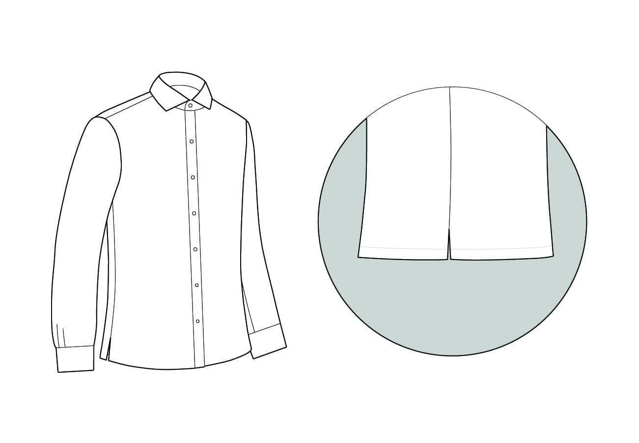 Straight Shirt Hem