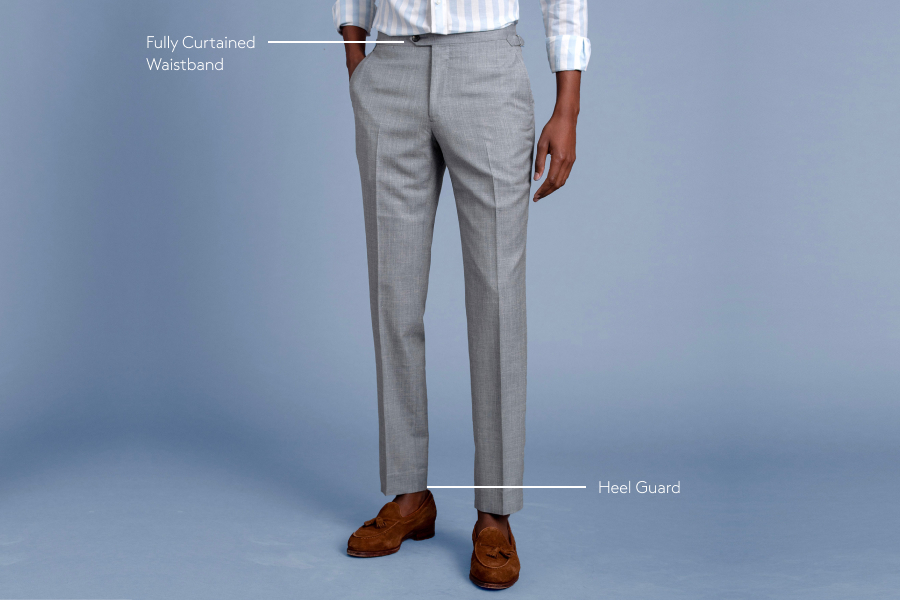 elements of high-quality trousers