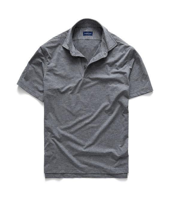 polo hem shirt