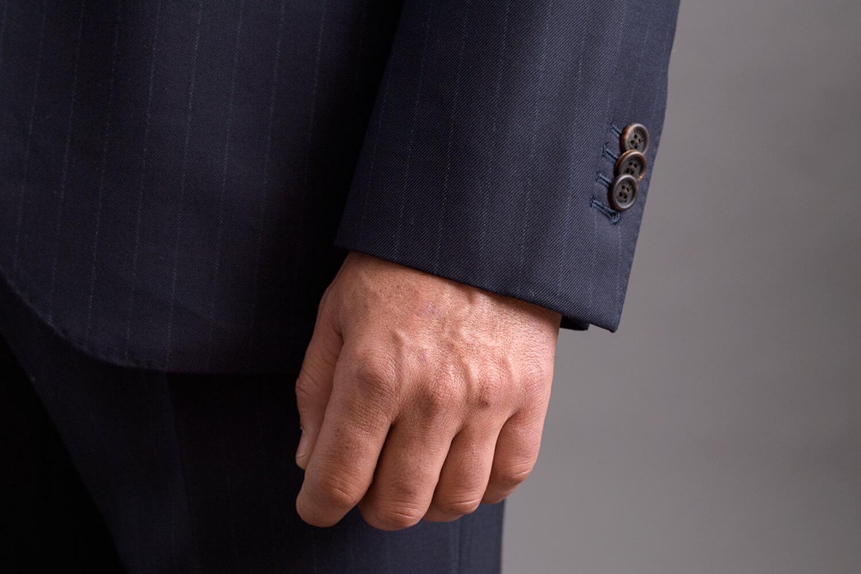 jacket sleeve too long
